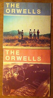 """The Orwells - 2 x 10"""" vinyl EP s Who Needs You, Other Voices"""