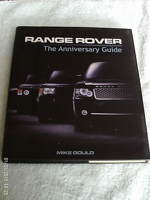 Range Rover The Anniversary Guide By Mike Gould
