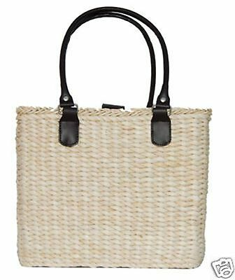 Lot 4 Borghese Signature Summer Straw Beach Tote Bags Wholesale Lot A1