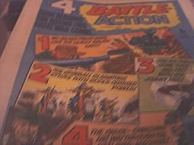 rare battle picture weekly and action comic march 11th 1978