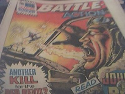 rare battle picture weekly and action comic may 20th 1978