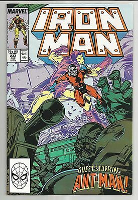 Iron Man #233 (1988) - Guest Starring Ant-Man