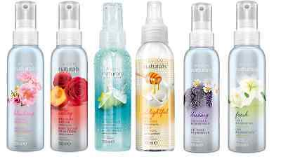 Avon Naturals Scented Spritz Room Linen and Home Spray 100ml- Assorted