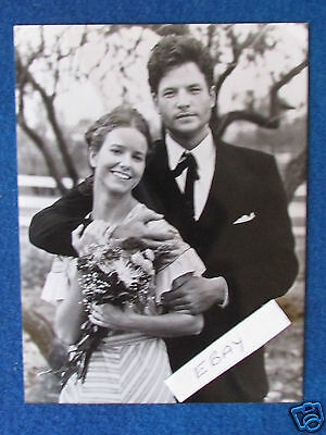 """Original Press Photo - 8""""x6"""" - Dallas - The Early Years-Young Jock & Ellie -1987"""