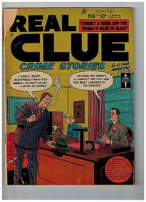 Lot Of (2) Real Clue Crime Stories: Vol 4 #12 And Vol 5 #3
