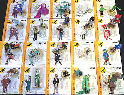 Official Tintin Figurines #1 to 50 BUY INDIVIDUALLY Herge Model Figure