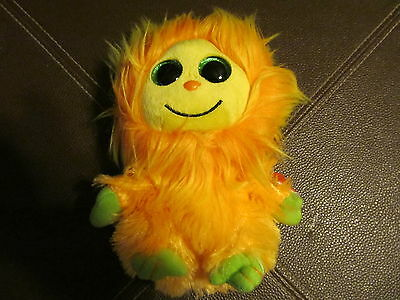 Ty Frizzys Tang  (Orange) 6 Inches Plush With Heart Tag  (NEW)