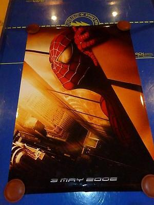 Spider-Man - Original D/S 1-Sheet movie poster 27x40 Twin Towers Recalled