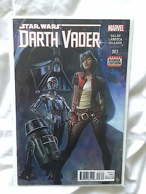 Darth Vader # 3, 1st Appearance of Dr. Aphra! 1st Print! NM/NM+