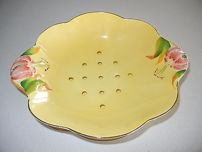 Royal Winton Yellow Lettuce Bowl And Liner