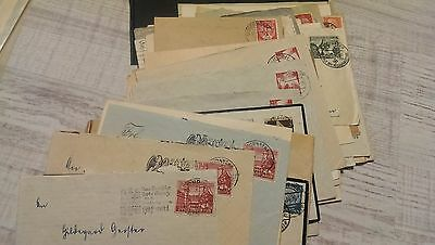 Germany ++ 60 Cards and Letter Cover WW2 ++ nice cancel
