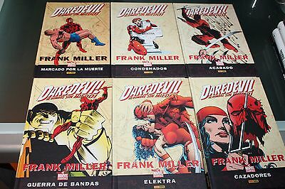 Daredevil Best of Marvel Essential de Frank Miller Completa 6 Tomos Panini