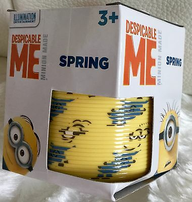 Minions Spring Spring Slinky Children's Despicable Me Minion Slinky Spring *****