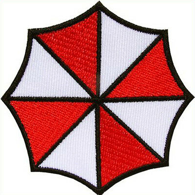 Resident Evil Umbrella patch embroidered Corporation Iron on Patch