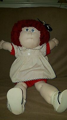artist doll creation Cabbage Patch soft sculpture Coleco tagged clothes NR