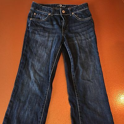 Boys 7 For All Mankind Blue Jeans - Size 8