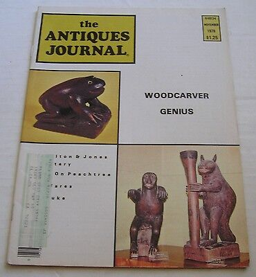 The Antiques Journal Magazine,  November 1978, Collectibles