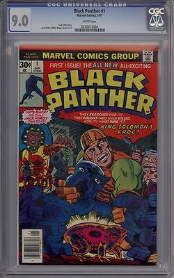 Black Panther #1 - CGC Graded 9.0