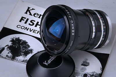 KENKO FISH EYE 180° Bague 49 mm AUXILIARY Fish Eye lens w/adapter 49 mm