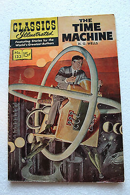 The Time Machine Classics Illustrated #133 1967