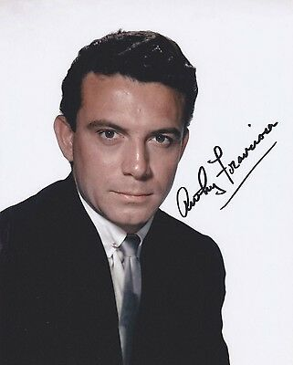 Signed Original Color Photo of Anthony (Tony) Franciosa of 1960's Films