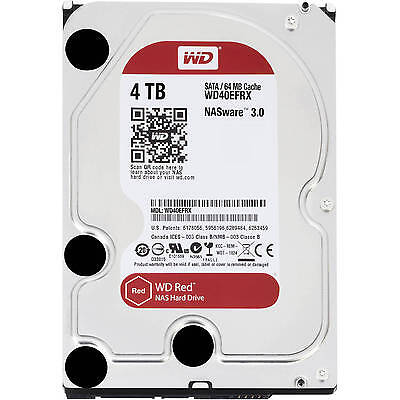 """WD Red 3.9TB Internal 7200RPM 3.5"""" (WD40EFRX) NAS 3.0 Has Only 24 Power-on Hours"""