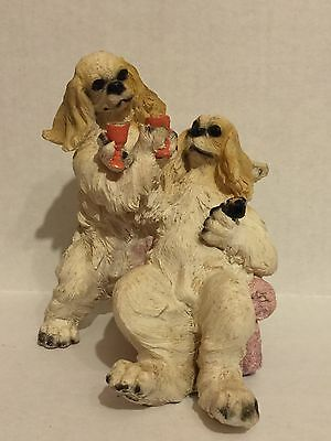 Collectible Dogs Celebrating