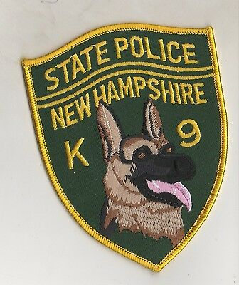 New Hampshire State Police K9 Unit Patch