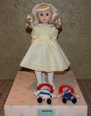 """Madame Alexander 11"""" Doll Marcella And Raggedy Ann And Andy 46390"""
