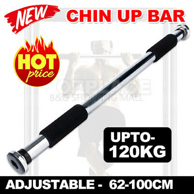 Doorway Chin up Pull up Bar Home Gym Health & Fitness Exercise Trainer
