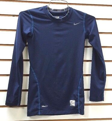 Nike Pro Tight Top Nike Fit Girls Youth Large 14-16 Compression Running Workout