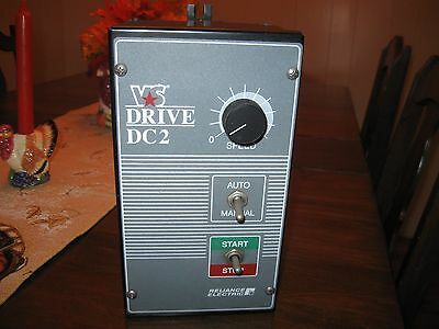 Reliance Electric Dc2 Motor Controller 1-2Hp Vs Drive