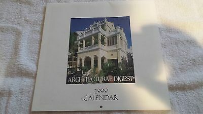 Architectural Digest Calendar, 1999, 12 Unique Images of Architecture/Decoration