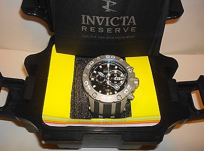 Invicta Reserve 51mm Specialty Subaqua Scuba Swiss Made Quartz Chronograph Watch