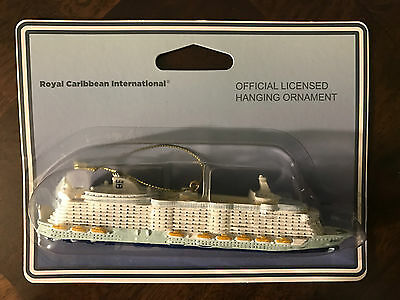 NEW Official Royal Caribbean Oasis of the Seas Ornament Christmas Tree RCCL