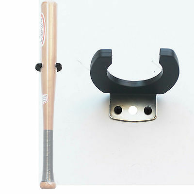 One Vertical Baseball Bat Softball Bat Display Wall Mount Wall Rack Wall Holder