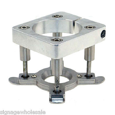 Diameter 65mm Automatic Fixture Clamp Plate Device for 800W Spindle Motor