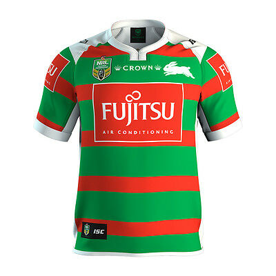 2017 Mens South Sydney Rabbitohs Away Rugby League Jersey S-3XL