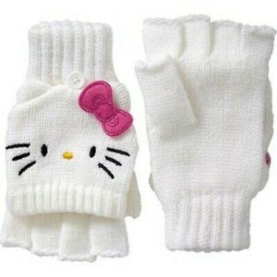 Hello Kitty Little Girls Convertible Mittens by Sanrio Small (6/7)) MSRP $16.95