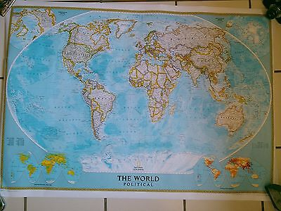 NATIONAL GEOGRAPHIC World Political Map