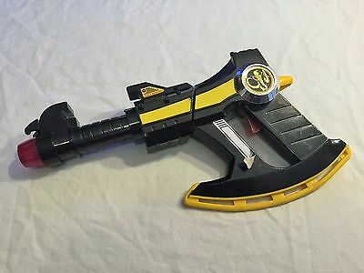 VINTAGE 1994 Bandai Mighty Morphin POWER RANGERS Black Power Axe NICE Cosplay