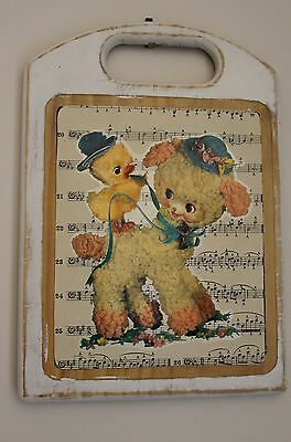 Musical Friends - Upcycled Creations, Vintage