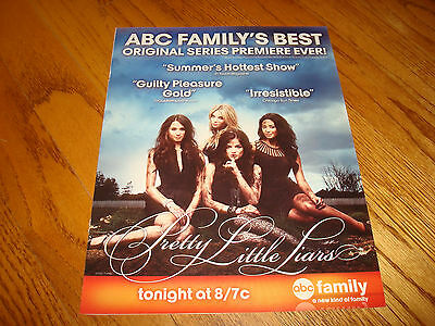 PRETTY LITTLE LIARS Emmy ad Ashley Benson, Holly Marie Combs, Lucy Hale