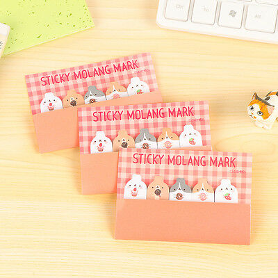 Lovely Rabbit Bunny Sticky Notes Sticker Bookmarker Memo Pad Home Office Class