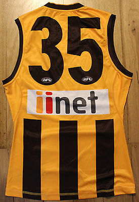 2015 Hawthorn Player Issue Home Football Jumper Guernsey Size L