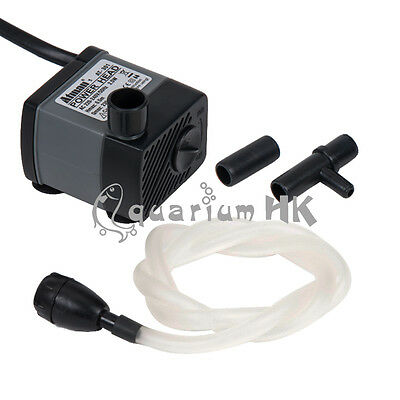 ATMAN Aquarium Submersible 2.5W 230L/H Aqua Power Head Air Water Pump AT301