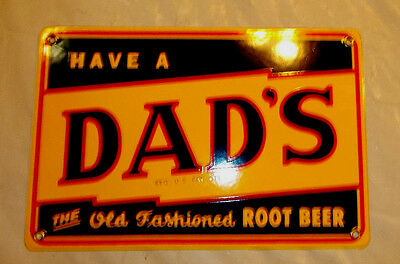 Dad's Root Beer - Porcelain Sign  12 x 8 mint condition - Great Gift