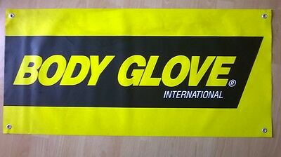 Vintage Body Glove Surf Contest Banner From The 1980's!