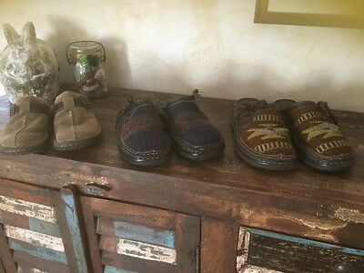 Lot of 3 pairs Born Mule clogs size 6 shoes
