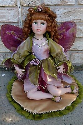 "Stunning Alberon Porcelain Fairy Doll - 18 inches - Limited Edition - ""Alice"""